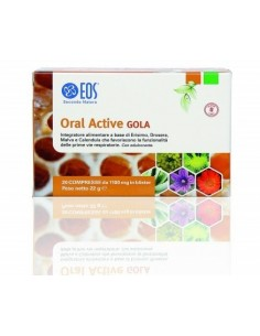 ORAL ACTIVE GOLA EOS 20CPR